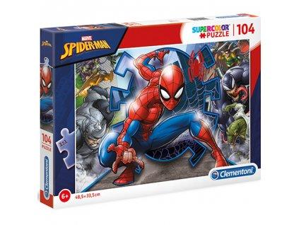 Clementoni puzzle Spiderman 104 dielikov