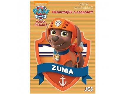 Pracovný zošit Predstavujeme tím - Zuma (s nálepkami)