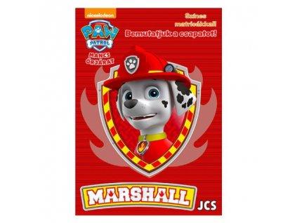 Pracovný zošit Predstavujeme tím - Marshall (s nálepkami)