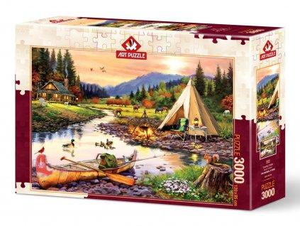 Art Puzzle Camping Friends 3000 dielokov