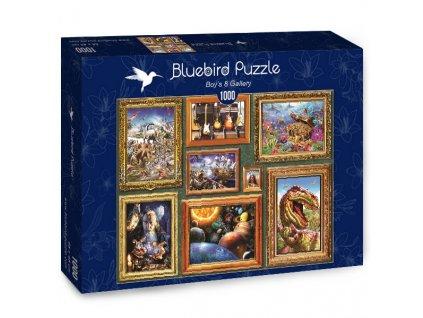 Bluebird puzzle Boy's 8 Gallery 1000 dielikov