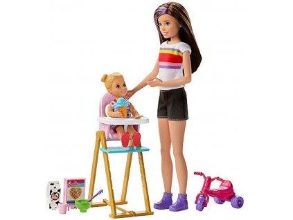 Mattel Barbie - Skipper opatovateľka set VI.