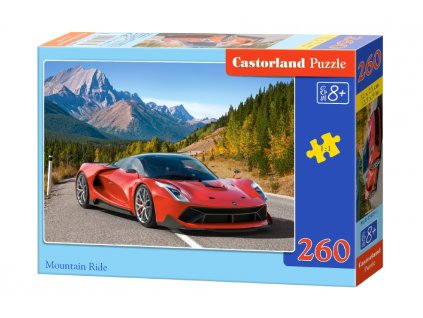 Castorland puzzle Jazda v horách - 260 dielikov