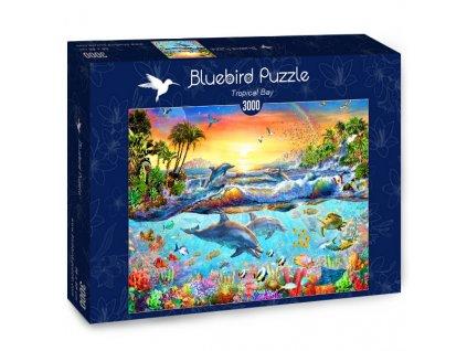 Bluebird puzzle Tropical Bay 3000 dielikov