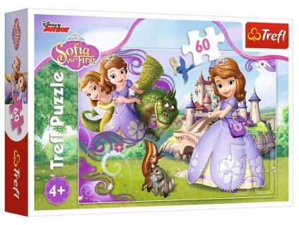 Trefl puzzle Sofia Prvá 60 dielikov