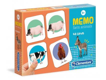Clementoni Pexeso - Farma
