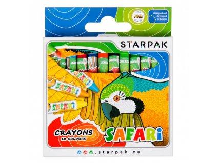 Starpak Safari voskovky 12 ks