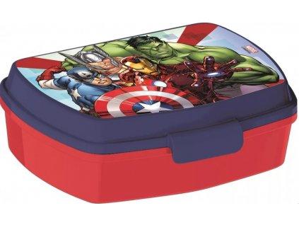 Stor desiatový box Avengers