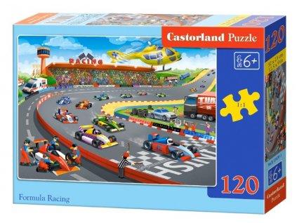 Castorland puzzle Formula Racing 120 dielikov
