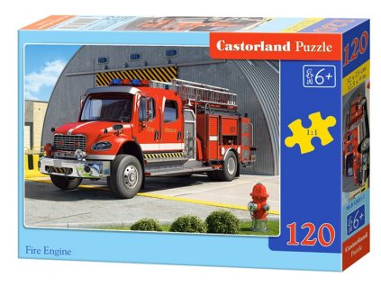 Castorland puzzle Hasiči 120 dielikov