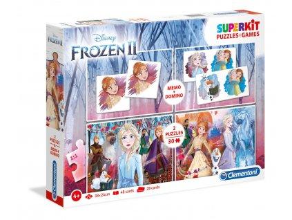 Clementoni Superkit Frozen II (2x puzzle + memo + domino)