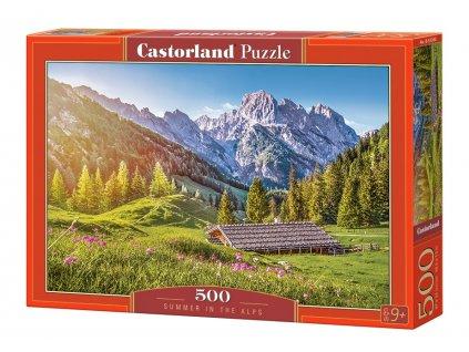 Castorland puzzle Leto v Alpách 500 dielikov