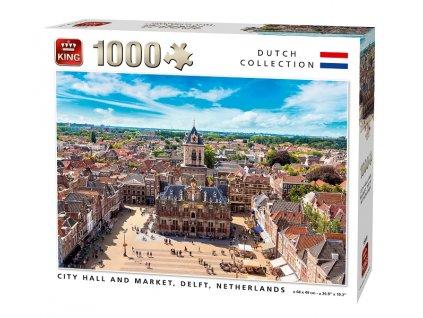 King puzzle Delft, Holandsko 1000 dielikov
