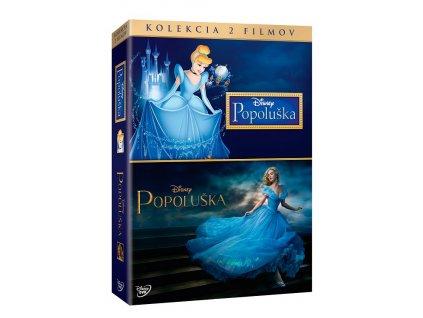 Walt Disney - Popoluška - Kolekcia 2 filmov