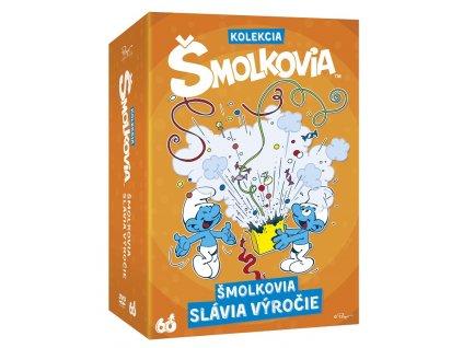 Šmolkovia Kolekcia 5DVD