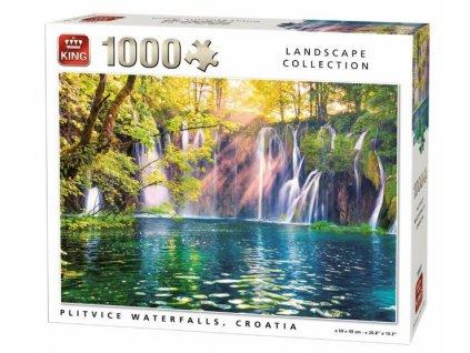 King puzzle Plitvické vodopády 1000 dielikov
