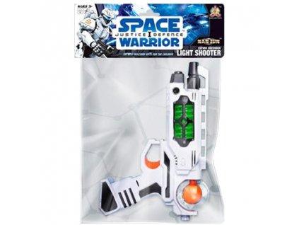 Kozmická detská pištoľ so svetlom a zvukom