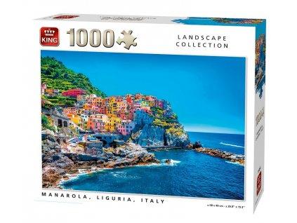 King puzzle Manarola 1000 dielikov