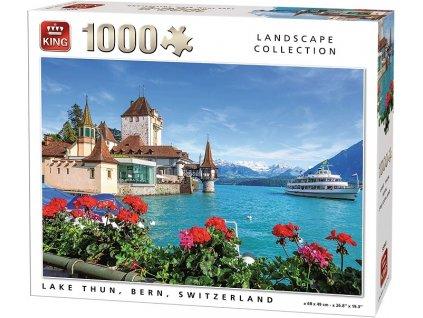 King puzzle Lake Thun 1000 dielikov