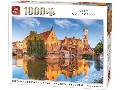 King puzzle Rozenhoedkaai, Brugy 1000 dielikov