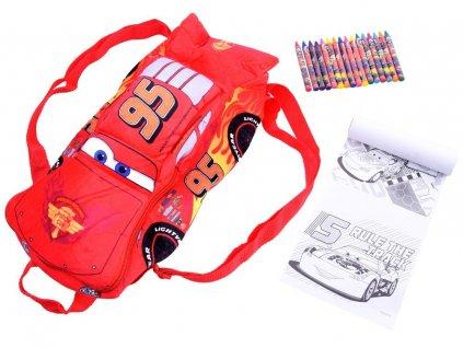 Plyšový batoh Blesk McQueen s doplnkami