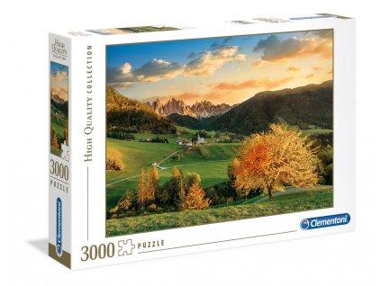 Clementoni puzzle Alpy 3000 dielikov
