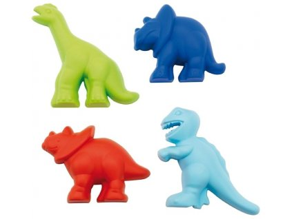 Écoiffier - Formičky do piesku Dinosaury 4 ks