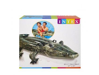 INTEX Nafukovačka 57551 Krokodíl 170 x 86 cm