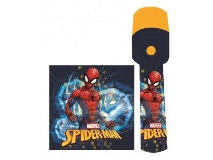W&O LED baterka Spiderman - plastová
