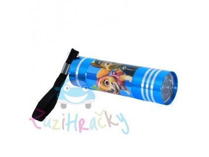 Kids Licensing Detská LED baterka Paw Patrol - Modrá New