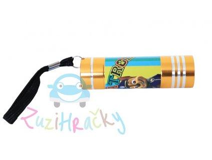 Kids Licensing Detská LED baterka Paw Patrol - Zlatá