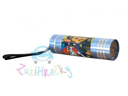 Kids Licensing Detská LED baterka Paw Patrol - Bledomodrá