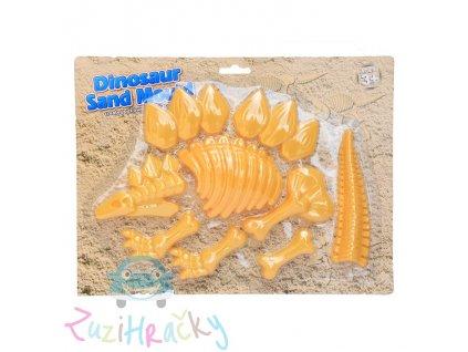 Jono Toys Formičky na piesok Dinosaurus 9 ks - žltý