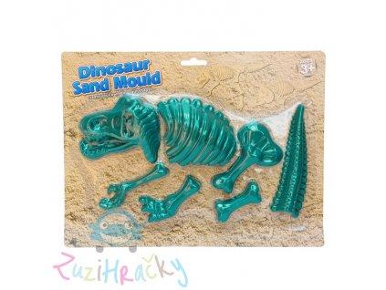 Jono Toys Formičky na piesok Dinosaurus 7 ks - zelený