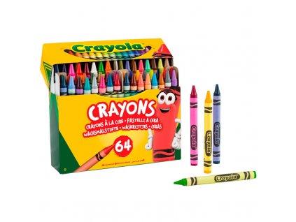 Crayola - Voskovky sada 64 ks