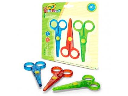 Crayola - Detské nožničky 3 ks