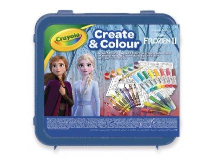 Crayola Kreatívna sada Frozen 2 50 ks