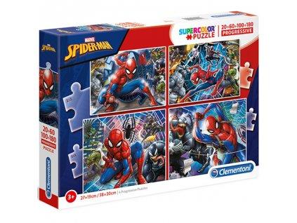 Clementoni puzzle Spiderman sada 4v1