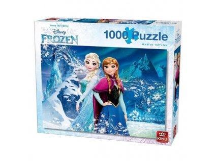 King puzzle Frozen 1000 dielikov