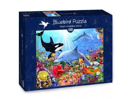 bluebird puzzle bright undersea world puzzle 1500 d