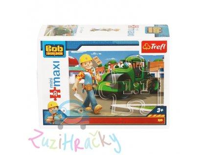 Trefl mini Maxi puzzle Bob Staviteľ 21009 - 20 dielikov