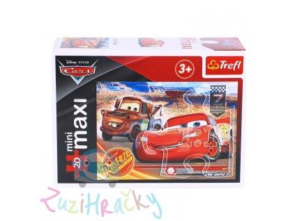 Trefl mini Maxi puzzle Autá 3 21044 - 20 dielikov