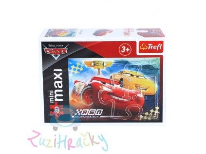 Trefl mini Maxi puzzle Autá 3 21045 - 20 dielikov