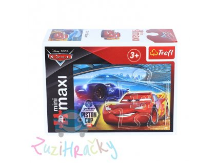 Trefl mini Maxi puzzle Autá 3 21046 - 20 dielikov