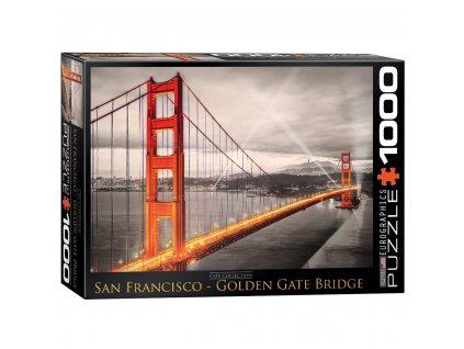 san francisco golden gate bridge puzzle 1000 d