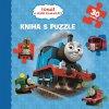 Tomáš a jeho kamaráti - Kniha puzzle - 30 dielikov