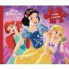 Disney - Princezná - Kniha s puzzle