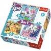 Trefl puzzle My Little Pony 3v1 sada