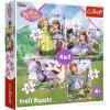 Trefl puzzle Sofia Prvá sada 4v1