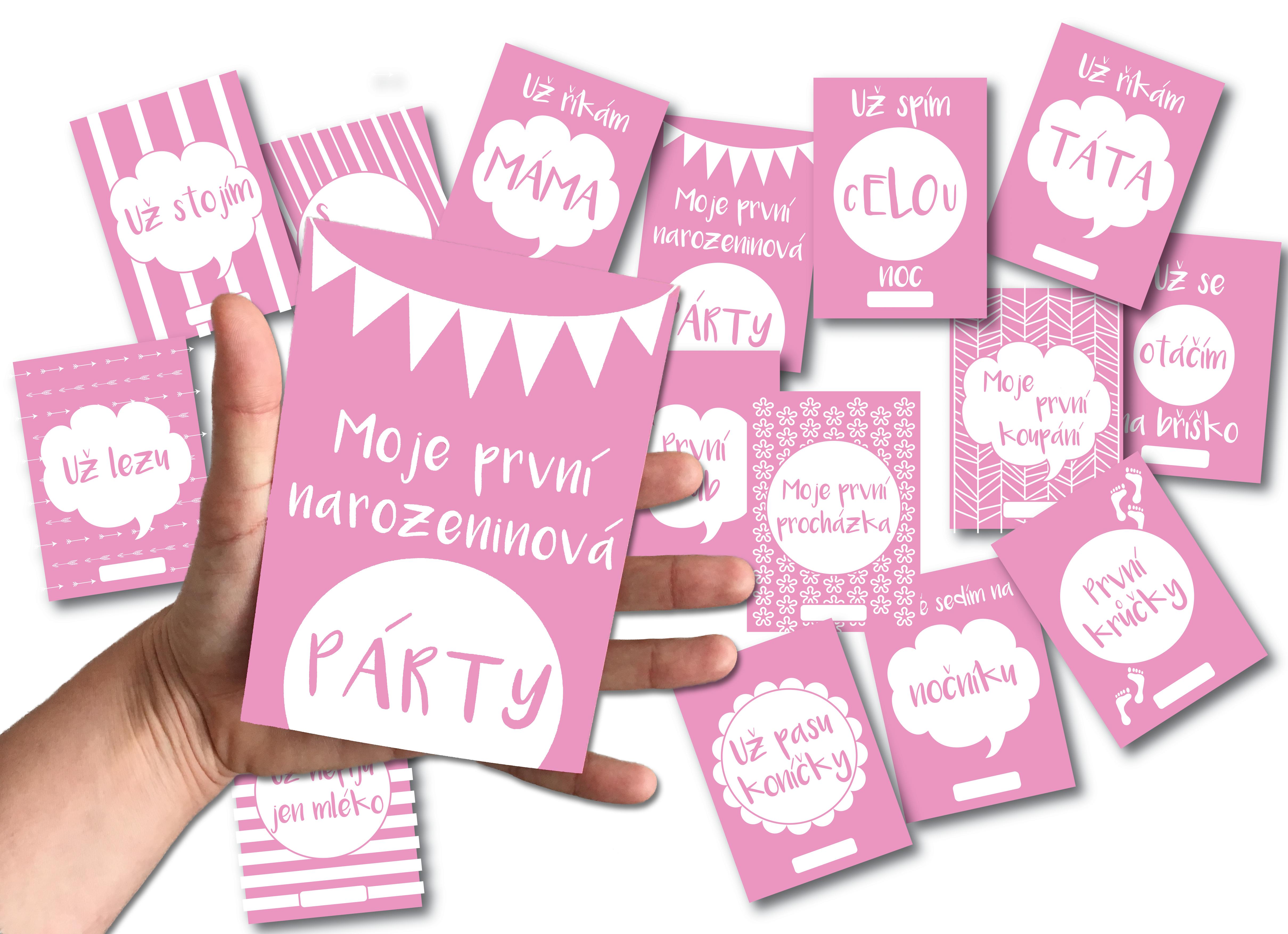 Milníkové kartičky - k čemu je ten hit Instagramu?